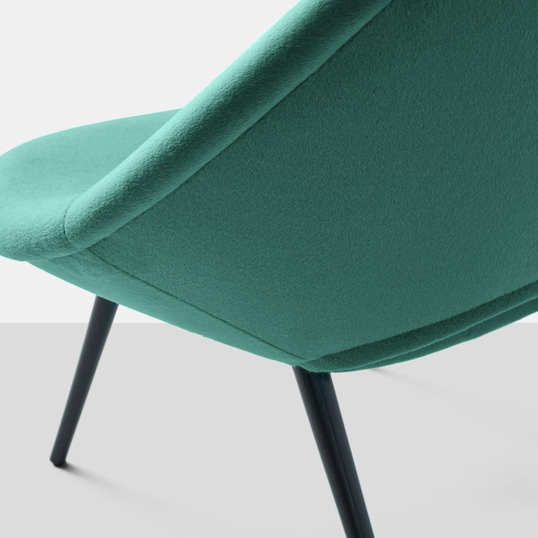 Wood Italian Design Scoop Chair For Sale