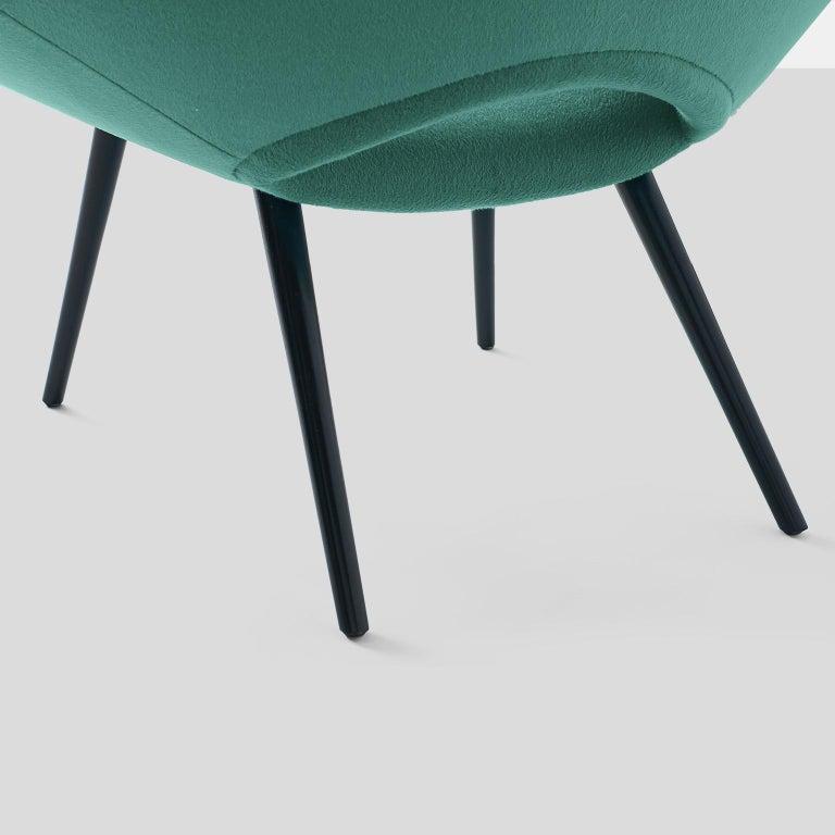 Italian Design Scoop Chair For Sale 1