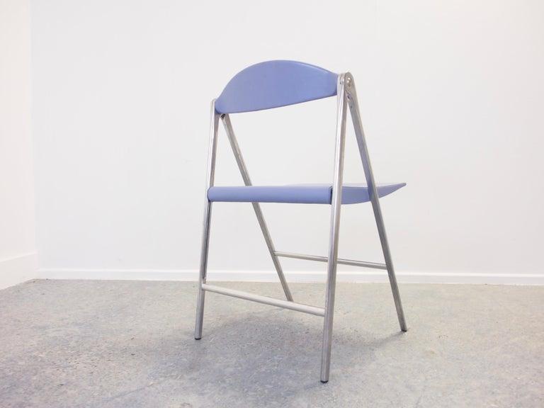 Contemporary Italian Design Set of 3 Folding Chairs