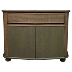 Italian Design Sideboard in Exotic Wood, 20th Century