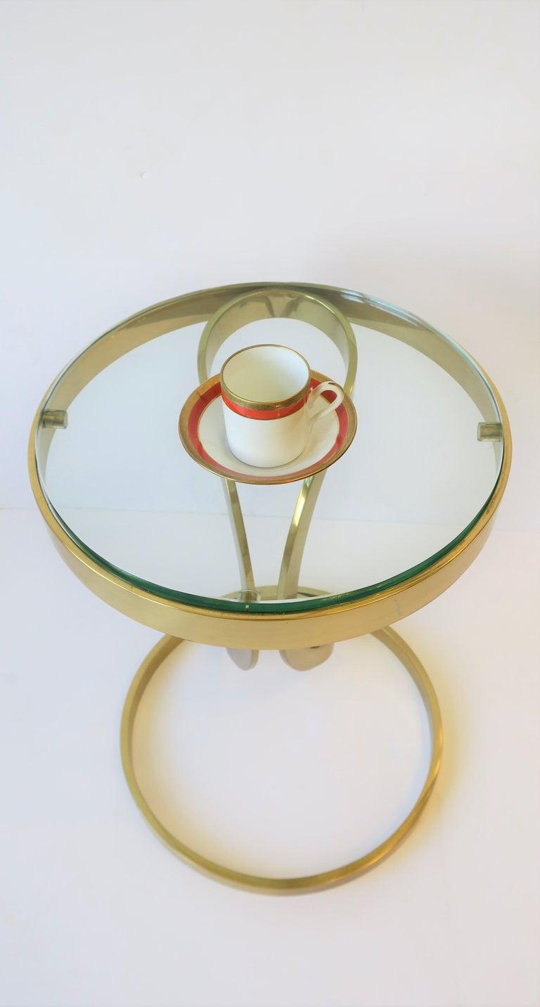 Italian Designer White Gold & Orange Espresso Coffee Cup by Richard Ginori For Sale 2