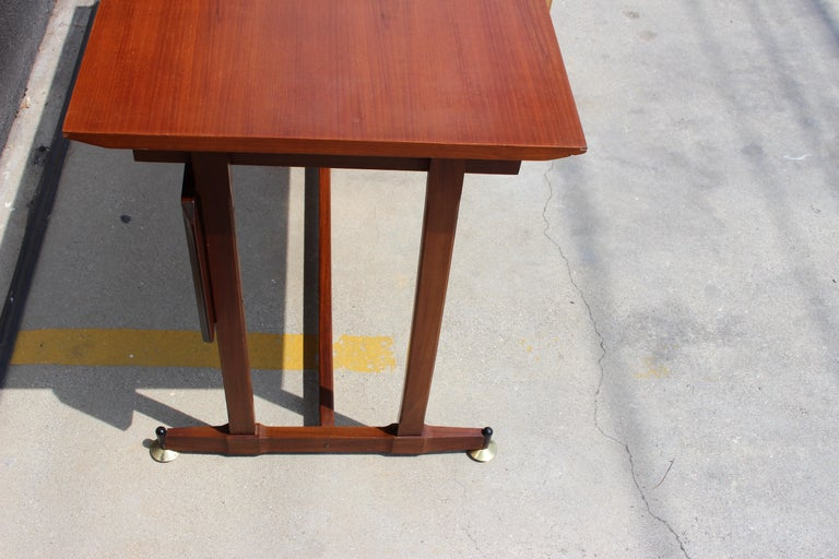 Italian Desk and the Chair Attributed to Ico Parisi For Sale 1