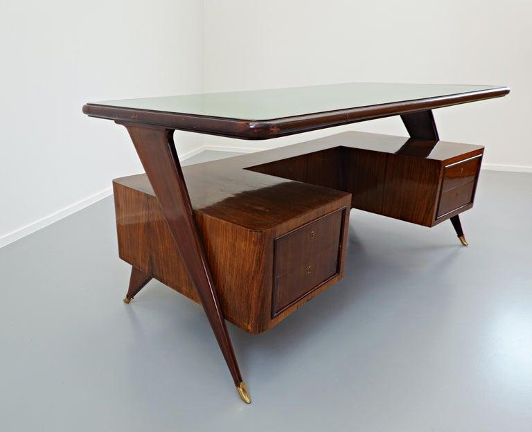 Italian Desk by Vittorio Dassi, 1950s For Sale 4