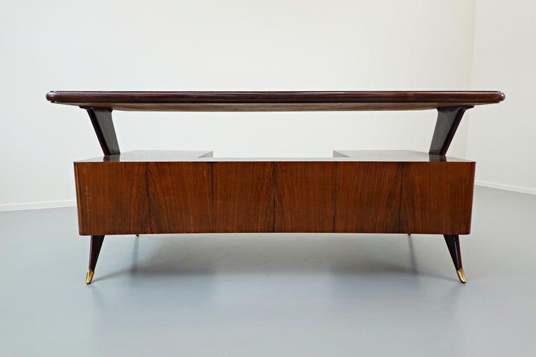 Italian Desk by Vittorio Dassi, 1950s For Sale 5