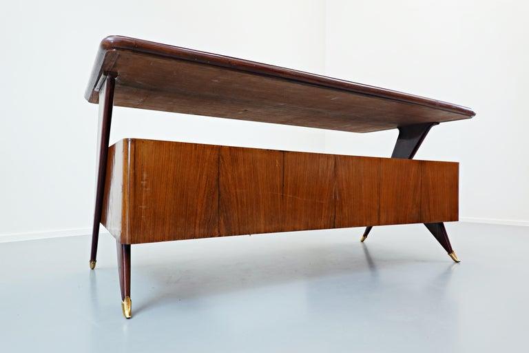 Italian Desk by Vittorio Dassi, 1950s For Sale 7