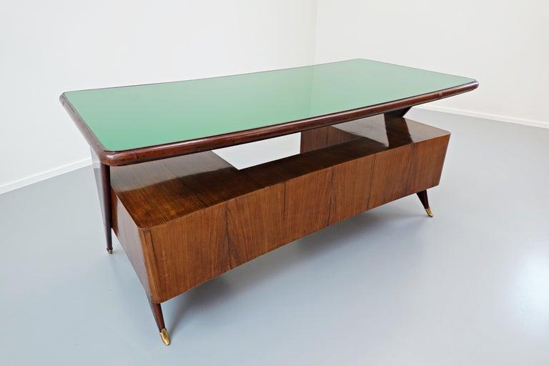 Italian Desk by Vittorio Dassi, 1950s For Sale 8