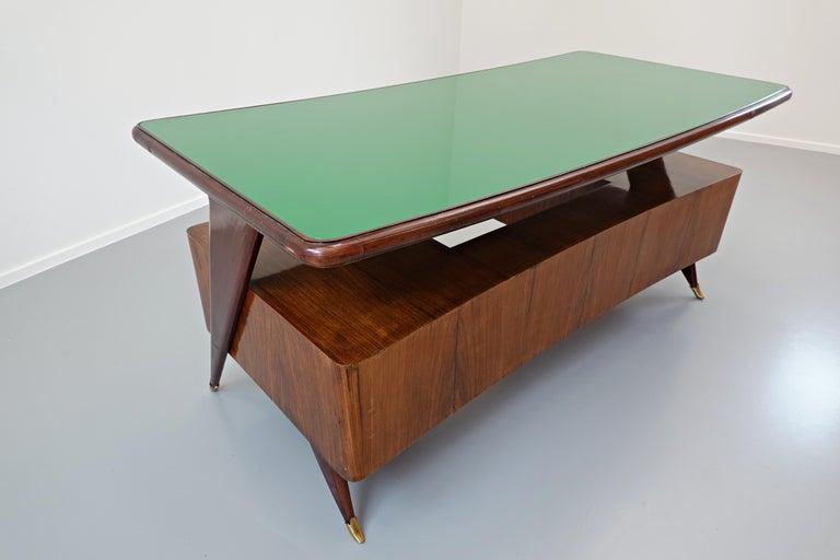 Italian Desk by Vittorio Dassi, 1950s For Sale 9