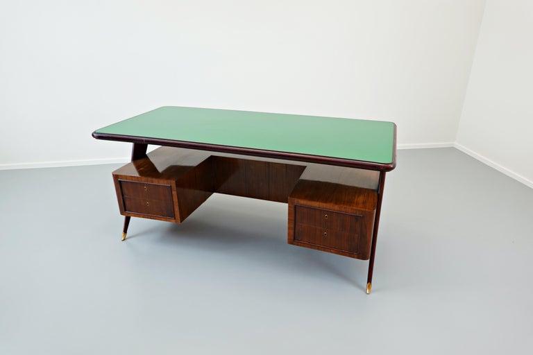 Mid-20th Century Italian Desk by Vittorio Dassi, 1950s For Sale