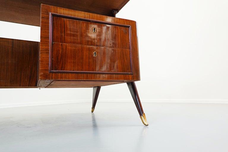 Italian Desk by Vittorio Dassi, 1950s For Sale 1
