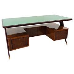 Italian Desk by Vittorio Dassi, 1950s