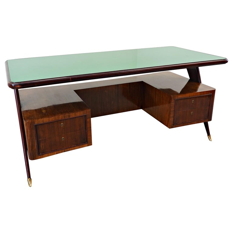 Italian Desk by Vittorio Dassi, 1950s For Sale