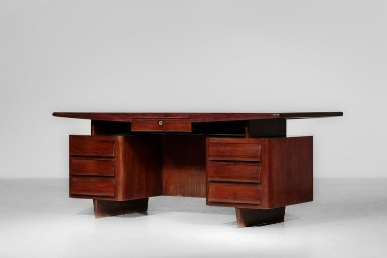 Italian Desk by Vittorio Dassi, 1950s Vintage For Sale 3