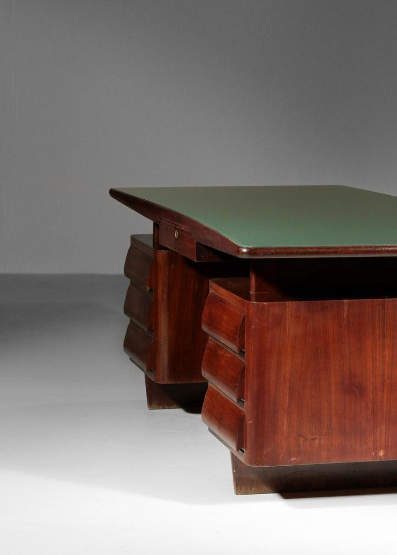 Italian Desk by Vittorio Dassi, 1950s Vintage For Sale 4