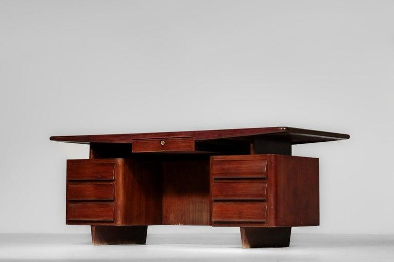 Italian Desk by Vittorio Dassi, 1950s Vintage For Sale 5