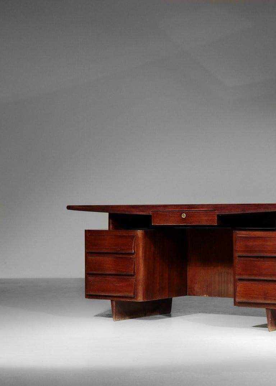 Italian Desk by Vittorio Dassi, 1950s Vintage For Sale 6