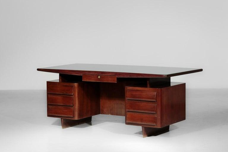 Italian Desk by Vittorio Dassi, 1950s Vintage For Sale 7