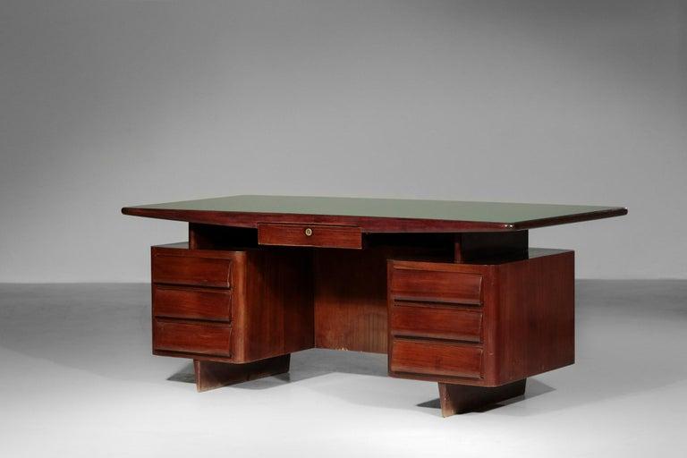 Italian Desk by Vittorio Dassi, 1950s Vintage For Sale 8