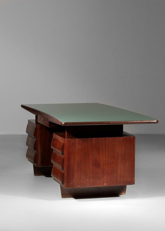 Italian Desk by Vittorio Dassi, 1950s Vintage For Sale 9