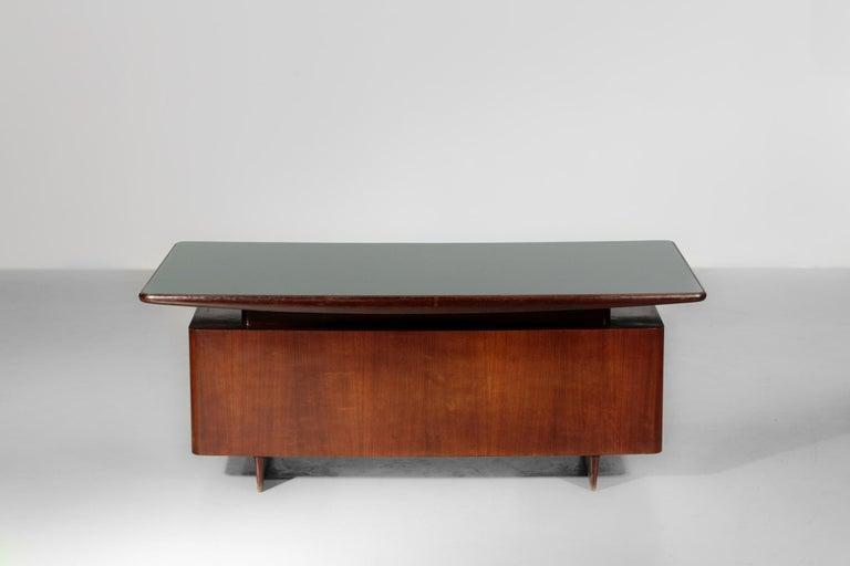 European Italian Desk by Vittorio Dassi, 1950s Vintage For Sale
