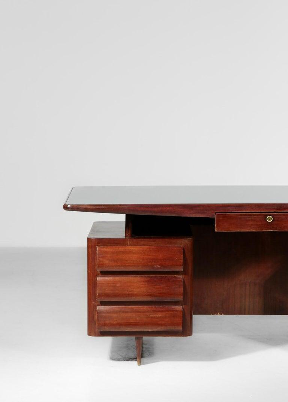 Mid-20th Century Italian Desk by Vittorio Dassi, 1950s Vintage For Sale