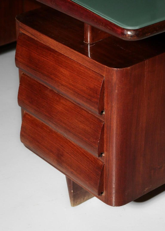 Italian Desk by Vittorio Dassi, 1950s Vintage For Sale 1