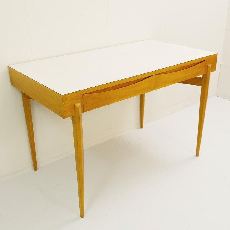 Mid-Century Modern Italian Desk For Sale