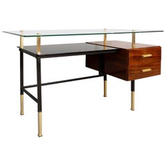 Italian Desk, Glass Top