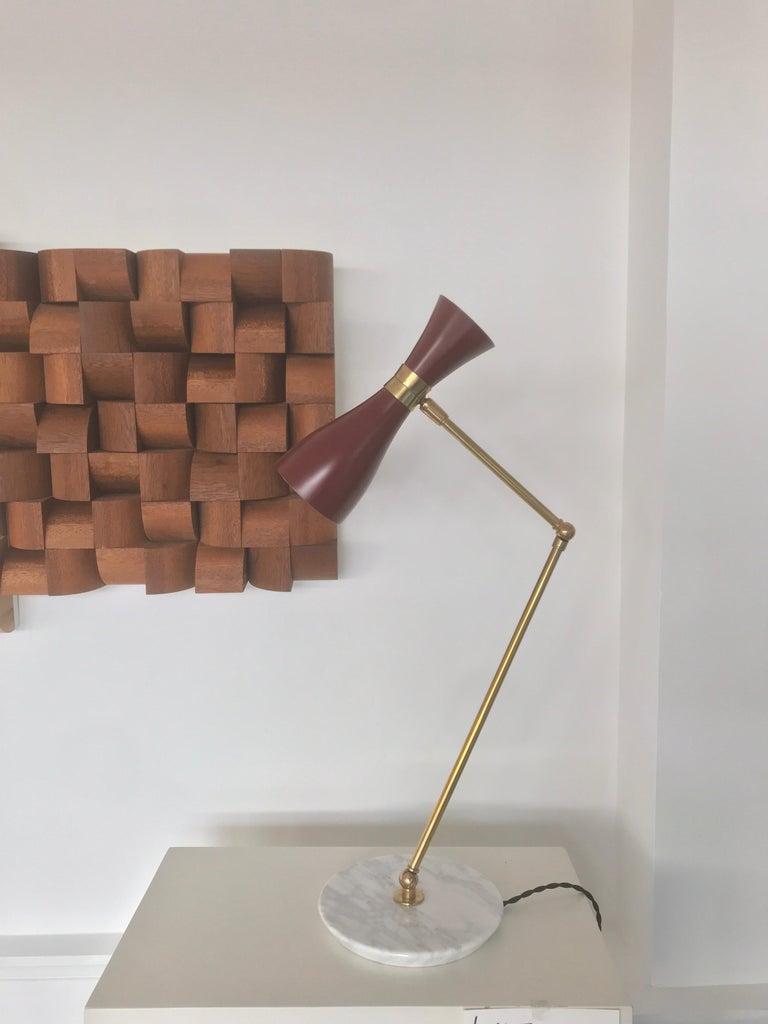 Italian Desk Lamp For Sale 5