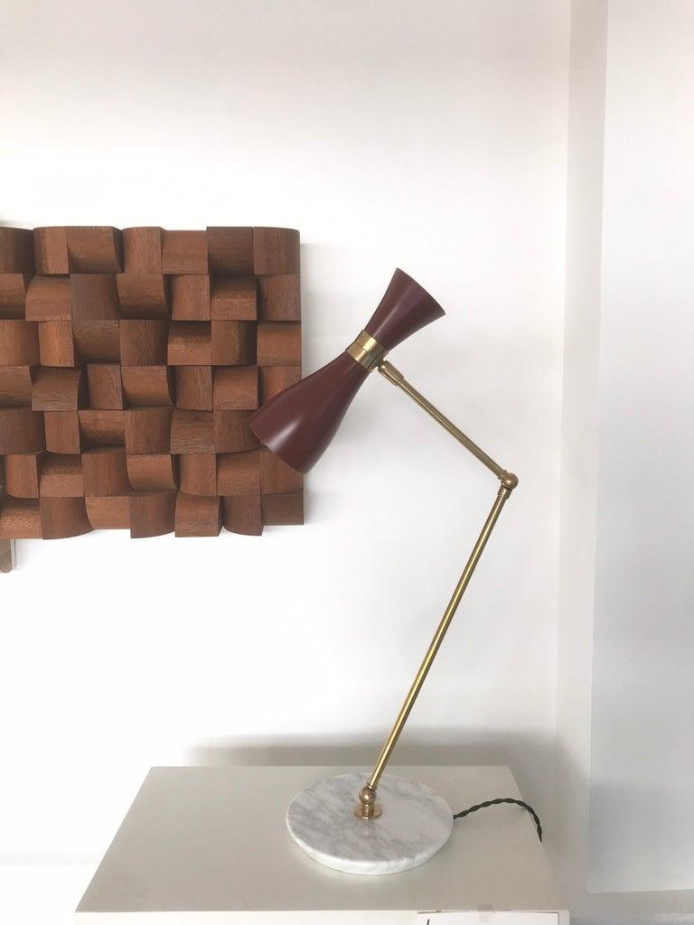 Italian Desk Lamp For Sale 6