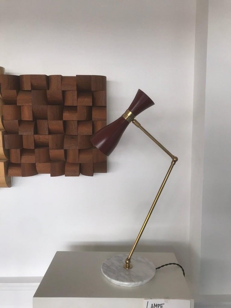 Italian Desk Lamp For Sale 8