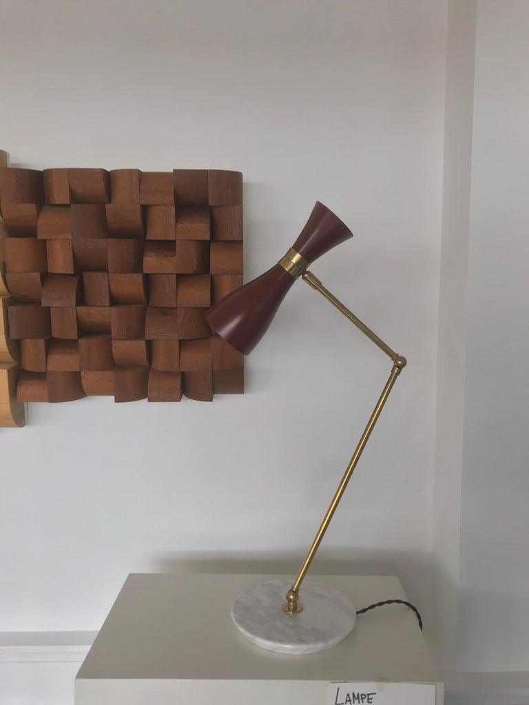 Italian Desk Lamp For Sale 9