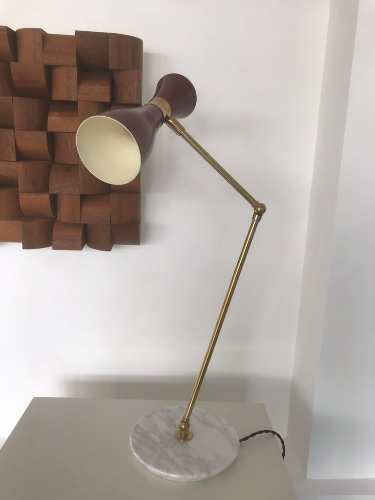 Mid-Century Modern Italian Desk Lamp For Sale