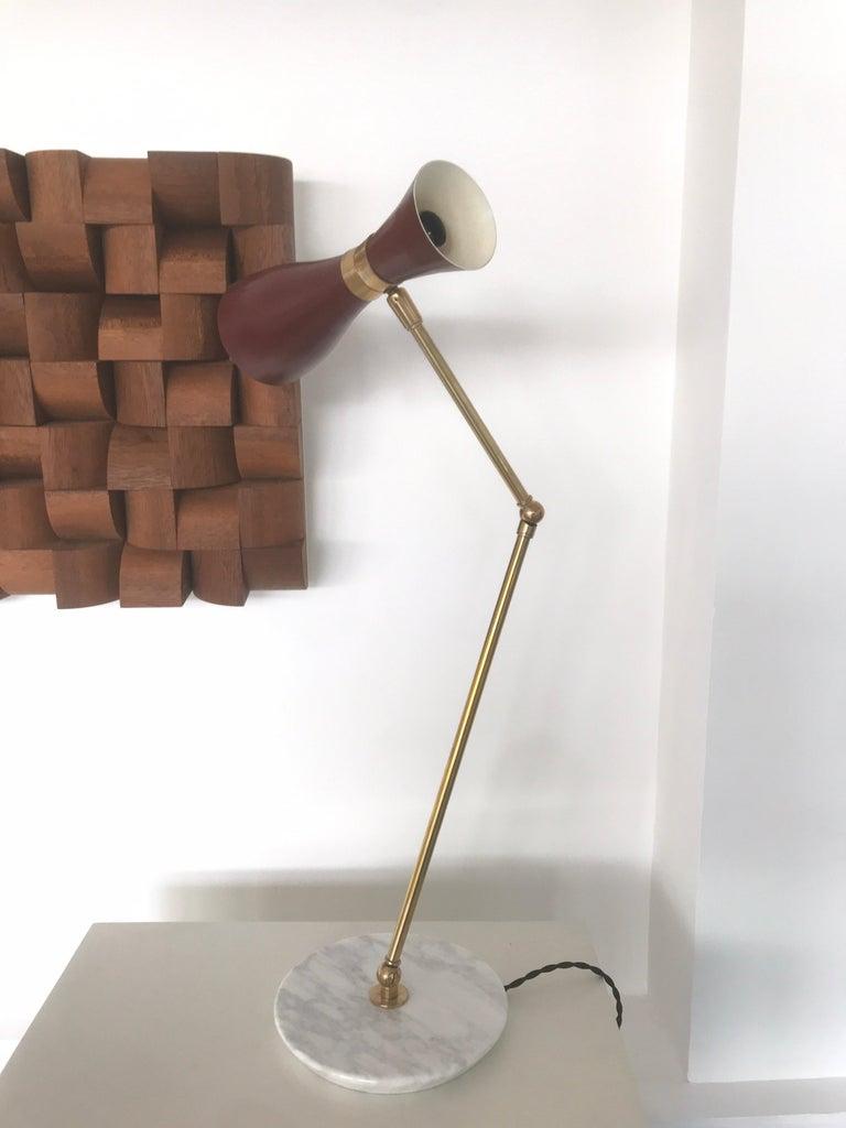 Lacquered Italian Desk Lamp For Sale