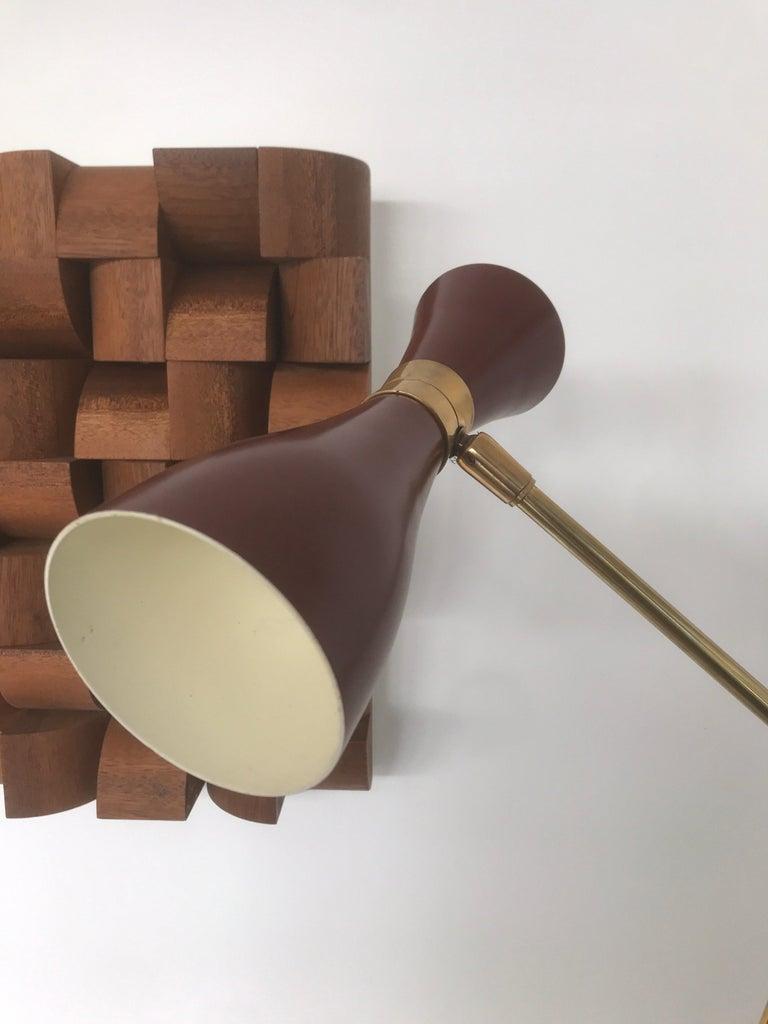 Late 20th Century Italian Desk Lamp For Sale