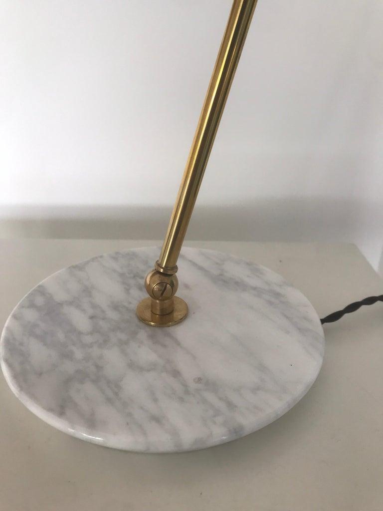 Brass Italian Desk Lamp For Sale