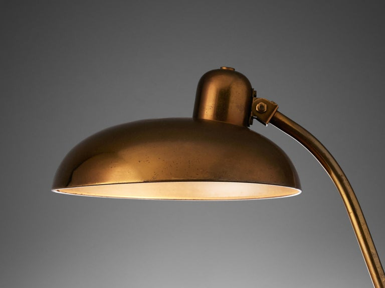 Mid-Century Modern Italian Desk Light in Brass, 1960s For Sale