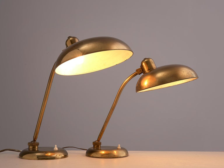 Italian Desk Light in Brass, 1960s 2