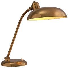 Italian Desk Light in Brass, 1960s