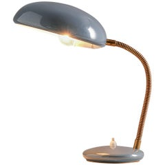 Italian Desk Light with Adjustable Shade