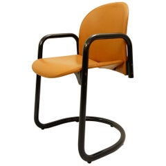 "Italian ""Dialogo"" Leather Chair by Tobia & Afra Scarpa, 24 Available"