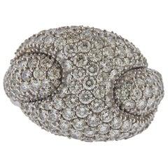 Italian Diamond Gold Ring