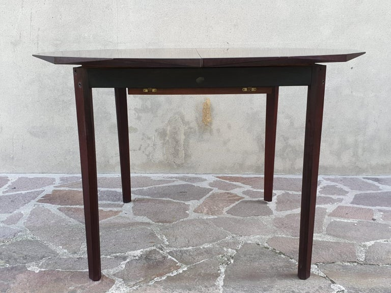 Palisander Italian Dining Room set by Dino Cavalli  For Sale