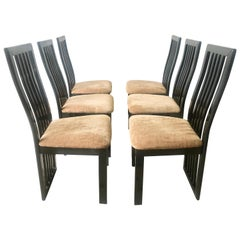 Italian Dining Chairs by S.p.A. Tonon