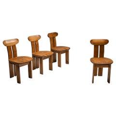 Italian Dining Chairs Mobilgirgi, Italy, 1970s