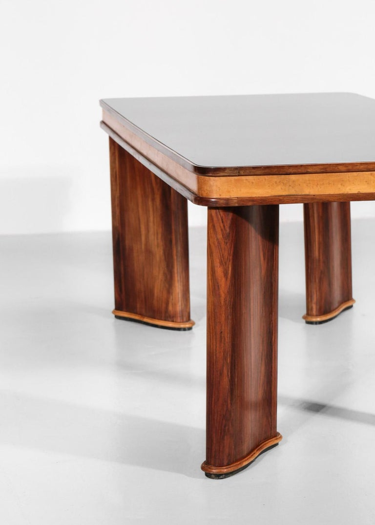 Italian Dining Table Attributed to Osvaldo Borsani, 1950s For Sale 4