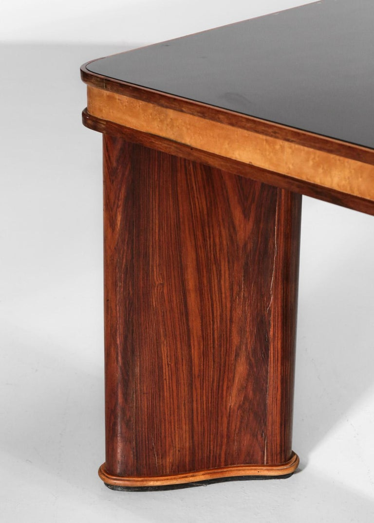 Italian Dining Table Attributed to Osvaldo Borsani, 1950s For Sale 6