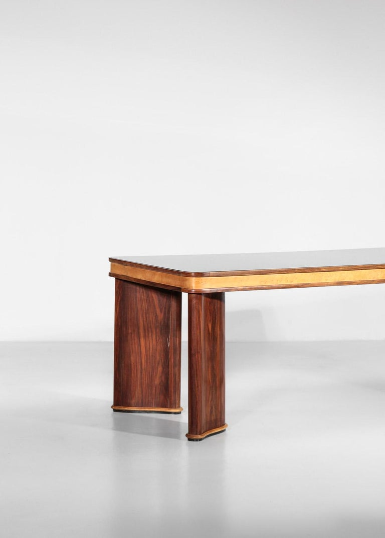 Italian Dining Table Attributed to Osvaldo Borsani, 1950s For Sale 7