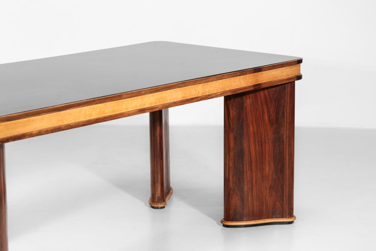 Italian Dining Table Attributed to Osvaldo Borsani, 1950s For Sale 10
