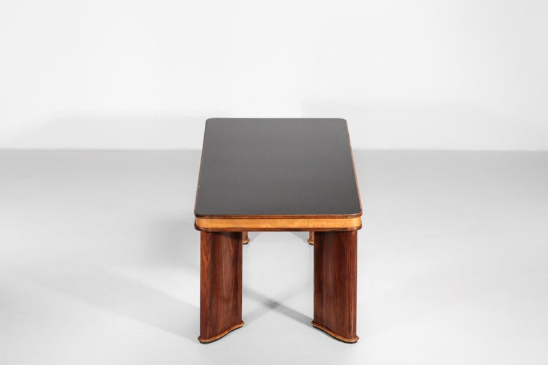Italian Dining Table Attributed to Osvaldo Borsani, 1950s For Sale 11