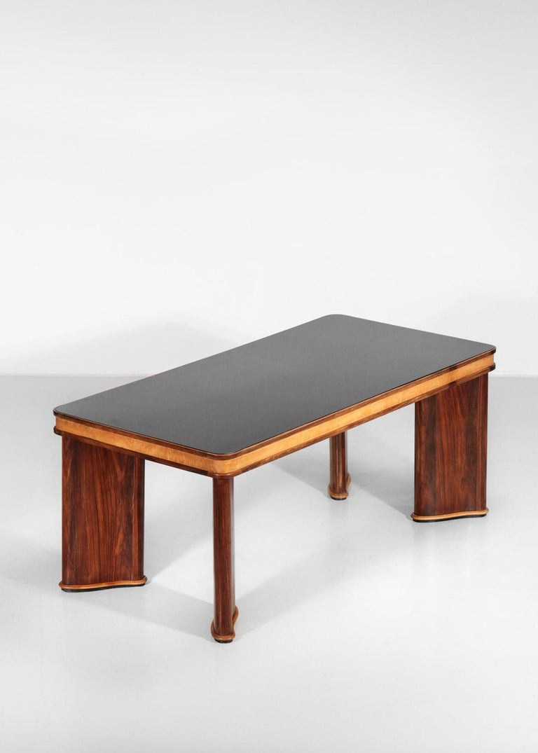 Italian Dining Table Attributed to Osvaldo Borsani, 1950s For Sale 12